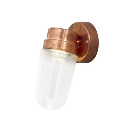 Vägglykta Vega LED koppar-0