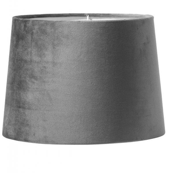 Paket art. Andrea 39cm krom, Inkl Skärm Sofia 20cm grå sammet-11612