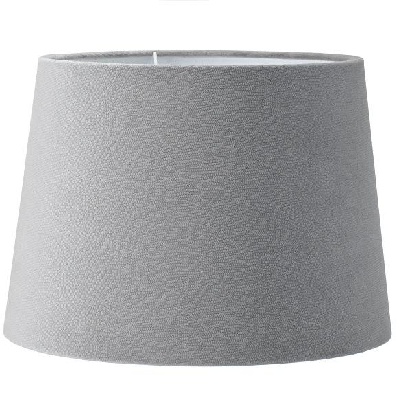 Lampskärm Sofia sammet grå 20 cm-0