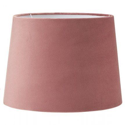 Lampskärm Sofia sammet studio rosa 20 cm-0
