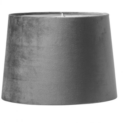 Paket art. Andrea 58cm krom, Inkl Skärm Sofia 25cm grå sammet-11616