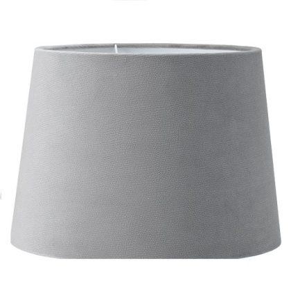 Lampskärm Sofia sammet Studio grå 25 cm-0