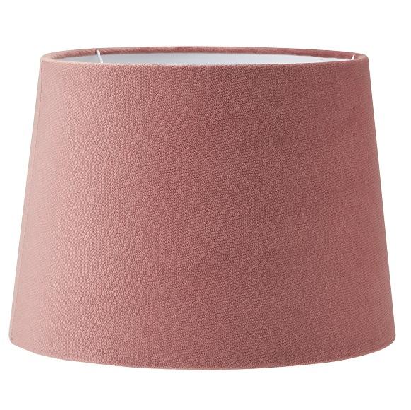 Lampskärm Sofia sammet Studio rosa 25 cm-0