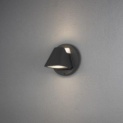 Vägglykta Hild GU10 svart-12460