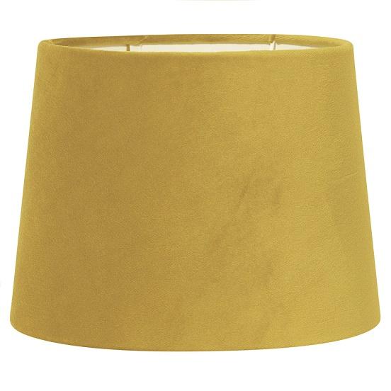 Lampskärm Sofia sammet gul 30 cm-0