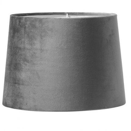 Paket art. Andrea 85cm krom, Inkl Skärm Sofia 30cm grå sammet-11620