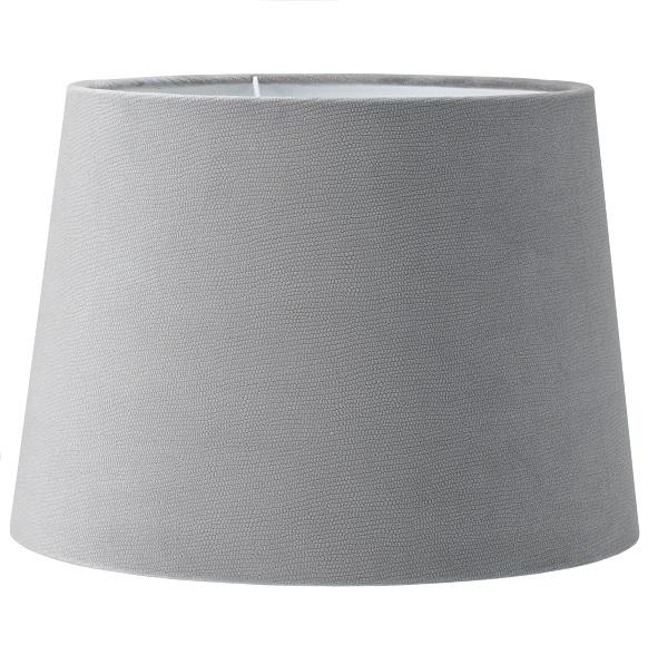 Lampskärm Sofia sammet Studio grå 30 cm-0