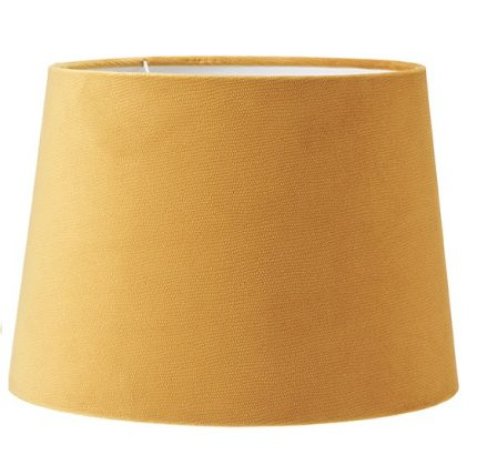 Lampskärm Sofia sammet Studio gul 30 cm-0