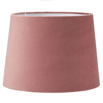 Lampskärm Sofia sammet rosa 30 cm-0
