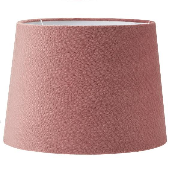 Lampskärm Sofia sammet Studio rosa 35 cm-0