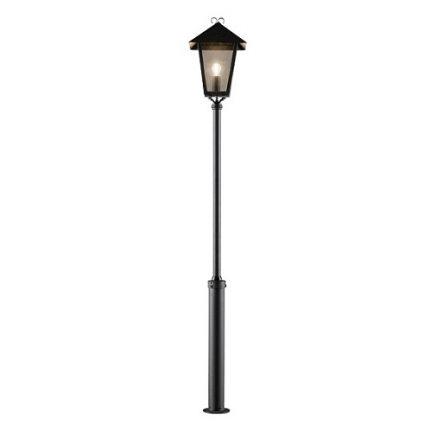 Stolplykta Benu E27 svart inkl stolpe-0
