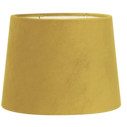 Lampskärm Sofia sammet gul 40 cm-0