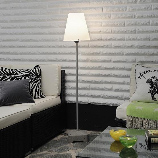 Golvlampa Lounge Lucca E27 grå-12489