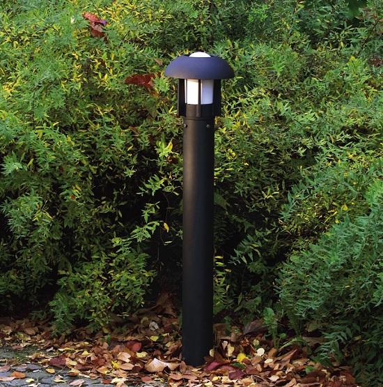 Trädgårdslykta Heimdal E27 svart-12608