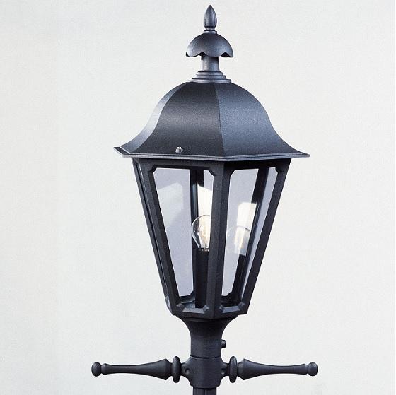 Lykta Pallas svart ex stolpe-12763