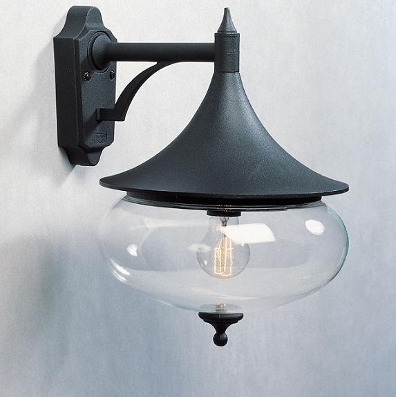 Vägglykta Libra E27 svart-12890