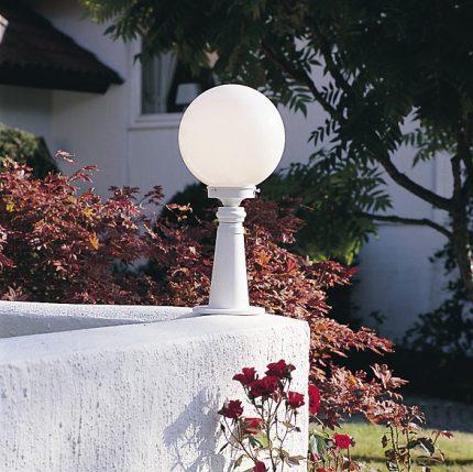 Trädgårdslykta Arcturus E27 vit-12926