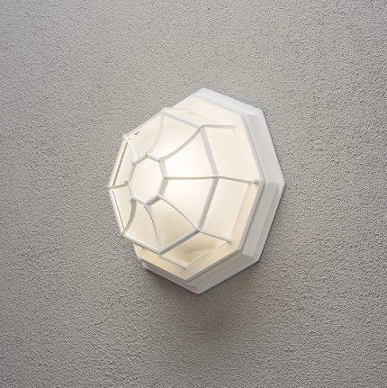 Väggplafond E27 vit-12997