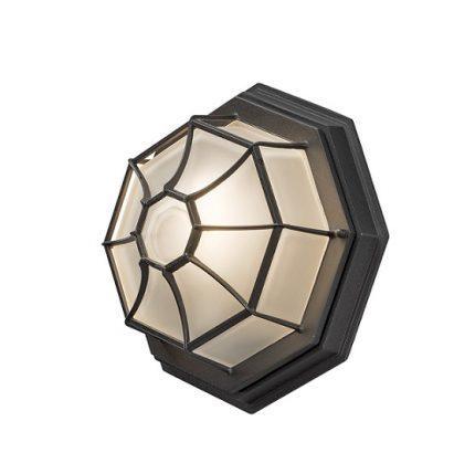 Väggplafond E27 svart-0