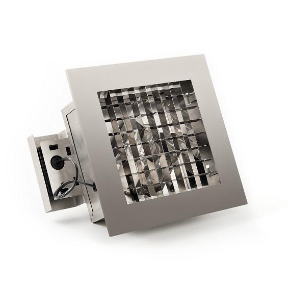 Infälld belysning E27 rostfri-0