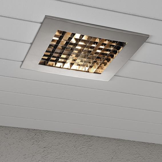 Infälld belysning E27 rostfri-13005