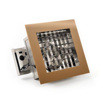 Infälld belysning E27 koppar-0