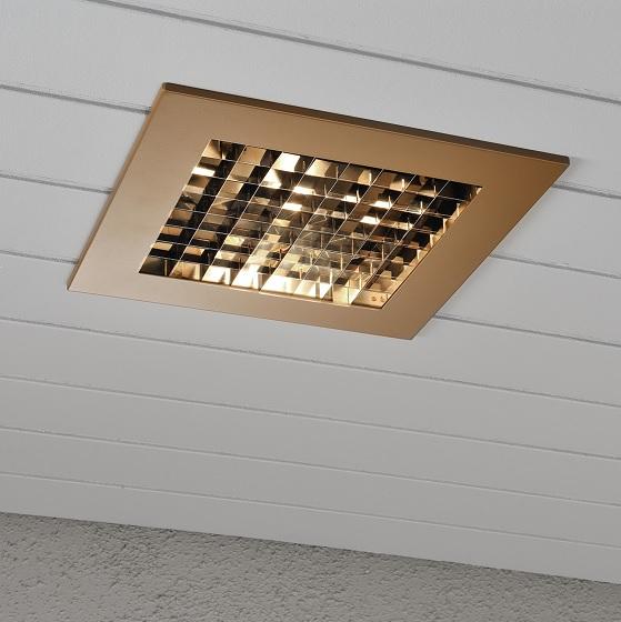 Infälld belysning E27 koppar-13013