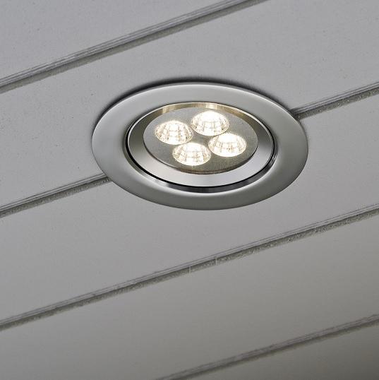 Inbyggnadsspot LED 230V-13033