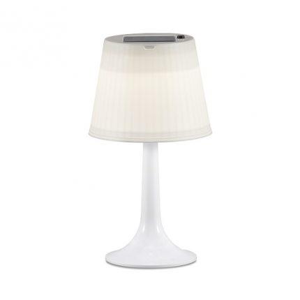 Solcell bordslampa Assisi LED vit-0