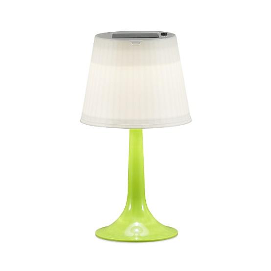 Solcell bordslampa Assisi LED grön-0