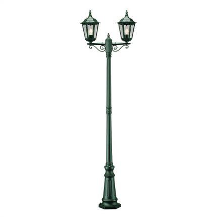Stolplykta Firenze 2-arm ink stolpe grön-0