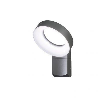 Vägglykta Asti LED mörkgrå-0