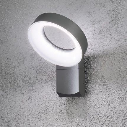 Vägglykta Asti LED mörkgrå-13281