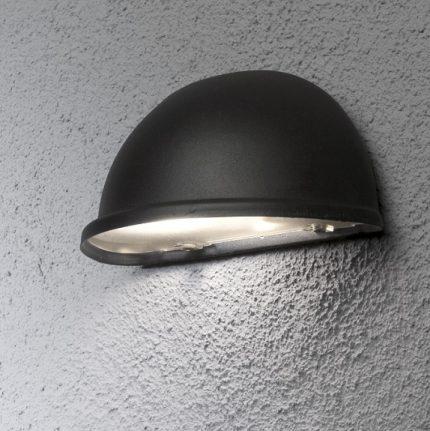 Halvmåneplafond Torino E14 svart-13332