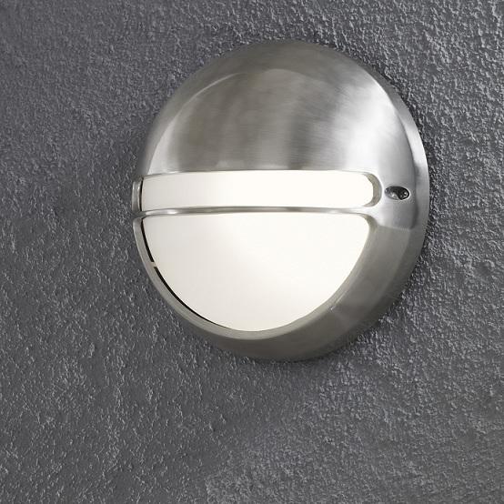 Vägglykta Torino E27 aluminium-13344