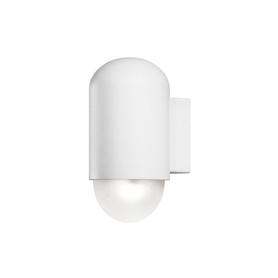 Vägglykta Sassari LED vit-0