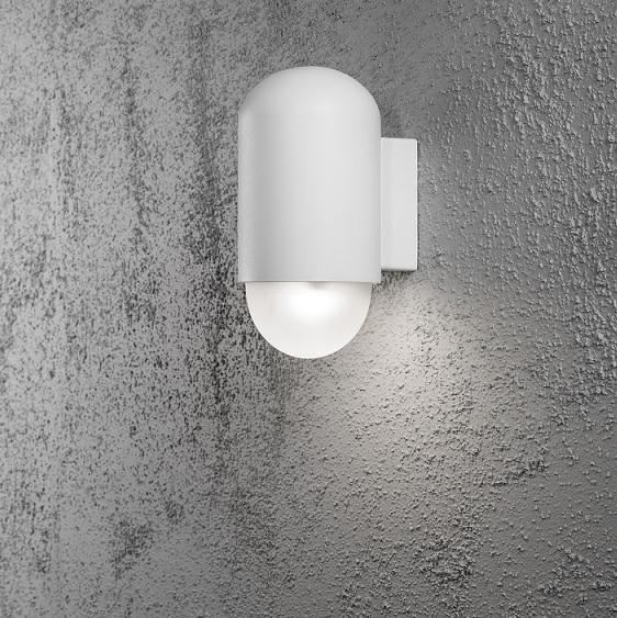 Vägglykta Sassari LED vit-13519
