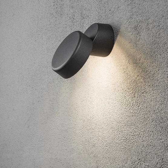 Vägglykta Vicenza LED svart-0