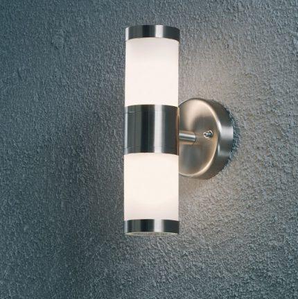 Vägglampa Modena upp/ned G9 rostfri-13574