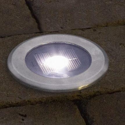 Solcellslampa markspot LED -13619