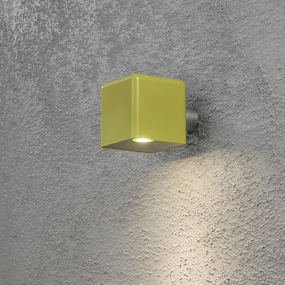 Vägglykta Amalfi LED gul-13828