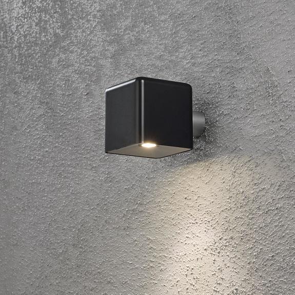 Vägglykta Amalfi LED svart-13843