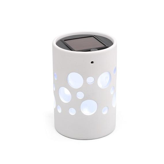 Solcellslampa Genova LED vit-0