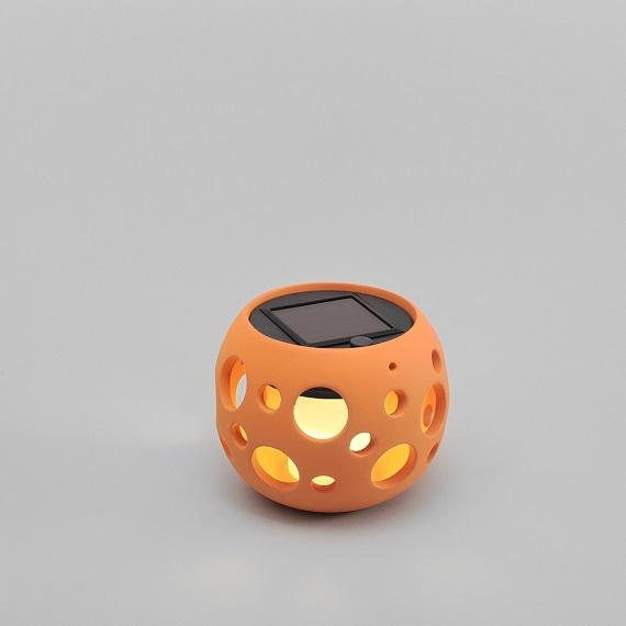 Solcell Genova LED terakotta-14052