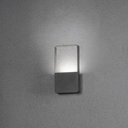 Vägglykta Matera 6W LED mörkgrå-14101