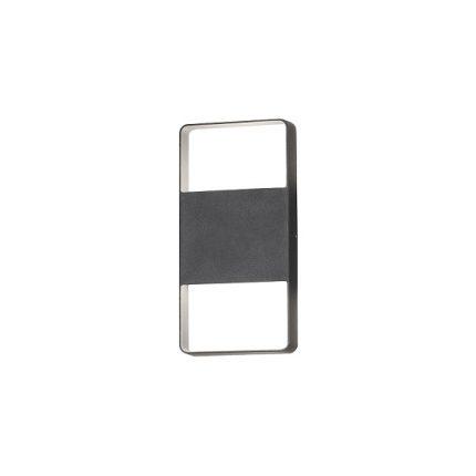 Vägglykta Matera 2x6W LED mörkgrå-0