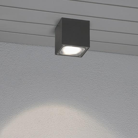 Taklykta Cesena 6W LED mörkgrå-14109