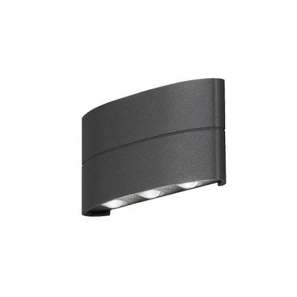 Vägglykta Chieri 6x1W LED mörkgrå-0