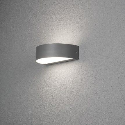 Vägglykta Monza 2x4,5W LED mörkgrå-0