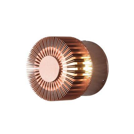Vägglykta Monza 3W LED koppar-0